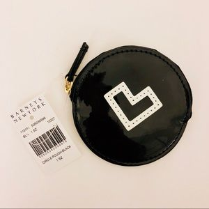NWT Barneys New York Small Circle Pouch